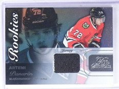 2015-16 Fleer Flair Showcase Artemi Panarin Rookie RC Jersey Row 0 Seat 44 *5712