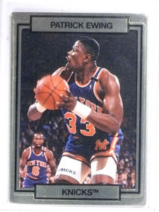 1990 Action Packed Promos Sample Gold Patrick Ewing  *61407