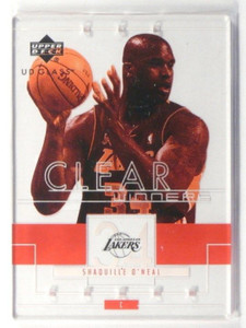 02-03 Upper Deck UD Glass Clear Winners Shaquille O'neal #107 *37200