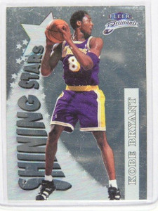 1998-99 Fleer Brilliants Kobe Bryant Shining Stars #14 *21661