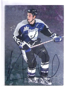 1998-99 Be A Player Vincent LeCavalier Autograph #279 *57099