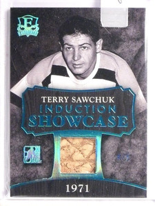 2016 Leaf Enshrined Induction Showcase Terry Shawchuk glove #D4/5  *55135