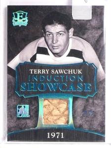 2016 Leaf Enshrined Induction Showcase Terry Shawchuk glove #D4/5  *55135