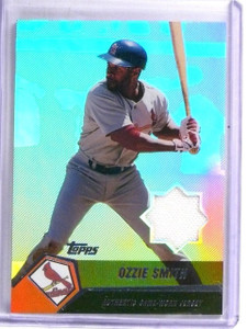 2004 Topps Clubhouse Relics Ozzie Smith Jersey #OS *57965
