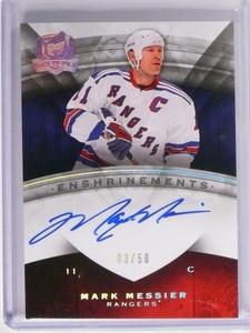 08-09 UD The Cup Enshrinements Mark Messier autograph auto #D03/50 *48711
