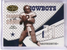 2004 Leaf Certified Roger Staubach Fabric Game Jersey Patch #D09/21 #FG84 *57257