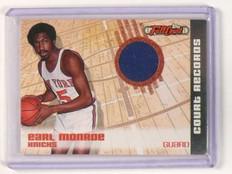 2006-07 Topps Full Court Earl Monroe Records Jersey Relics #d325/499 *45367