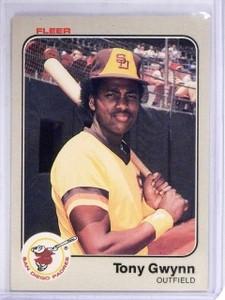 1983 Fleer Tony Gwynn Rookie RC #360  *61043