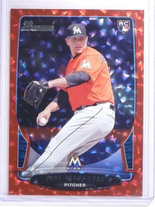 2013 Bowman Draft Red Ice Jose Fernandez rookie RC #D17/25 #10 *64055