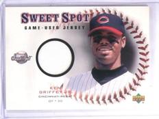 2001 Upper Deck Sweet Spot Game Jersey Ken Griffey Jr. #JKG *60050