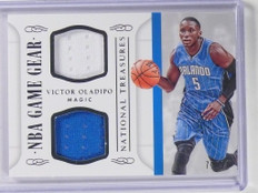 2014-15 National Treasures Victor Oladipo Game Gear Jersey #D72/99  *49705