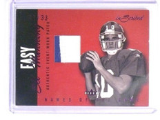 2004 Fleer Inscribed Names of game Eli Manning rc rookie 2clr patch #D11/33  *44