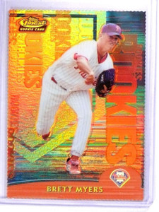 2000 Finest Gold Refractor Rookie RC Brett Myers #D079/100 #106 *63639