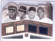 2016 Pantheon Monuments Puckett Carew Killebrew Oliva Bat Jersey #D02/99 *65755