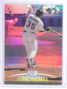 1999 Stadium Club Chrome Refractor Frank Thomas #SCC24 *61779