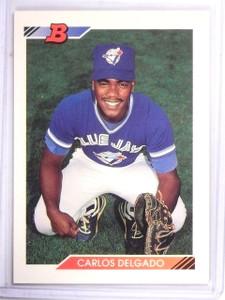 1992 Bowman Carlos Delgado Rookie RC #127  *61282