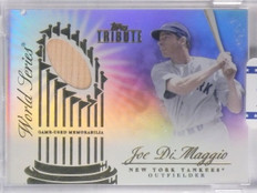2012 Topps Tribute World Series Swatches Joe DiMaggio Bat #D22/49 #WSSJD *65687