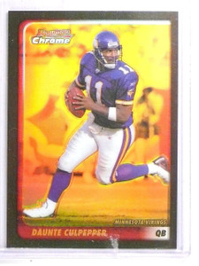 2003 Bowman Chrome Gold Refractor Daunte Culpepper #D07/50 #44 *63552