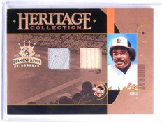 2005 Diamond Kings Heritage Collection Eddie Murray Bat Jersey #D26/100 *59984