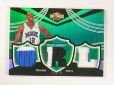 06-07 Topps Triple Threads Dwight Howard triple patch #D10/18 #TTR-41 *46471
