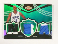 06-07 Topps Triple Threads Dwight Howard triple patch #D07/18 #TTR-41 *46470
