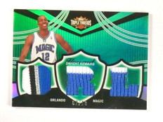 06-07 Topps Triple Threads Dwight Howard triple patch #D02/18 #TTR-41 *46469