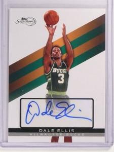 2008-09 Topps Signature Dale Ellis Autograph Auto #D957/999 #TSADE *52542