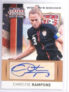 2012 Panini Americana Soccer Christie Rampone autograph auto #D42/159 #8 *49468