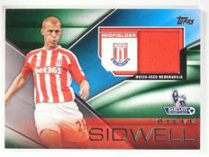 2014 Topps Premier Gold Football Fibers Steve Sidwell jersey #FFR-SS *49250