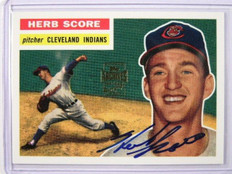 2001 Topps Archives auto autograph Herb Score #50TAA *28390