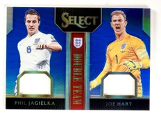 2015 Select Soccer Phil Jabielka Joe Hart Team Jersey Blue #D97/99 #DTJH *54261