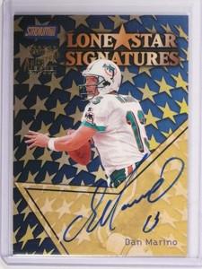 1999 Topps Stadium Club LoneStar Signatures Dan Marino autograph auto *48684