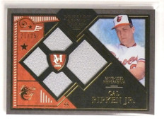2016 Topps Museum Primary Pieces Cal Ripken Jr. quad jersey #D21/25 *55176