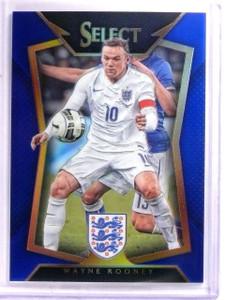 2015 Select Soccer Wayne Rooney Blue Prizm #D204/299 #31 *54033