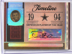 2006 National Treasures Timeline Deion Sanders auto autograph #D8/9 *39087