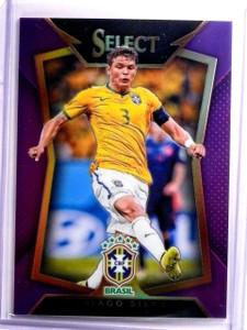 2015 Select Soccer Thiago Silva Purple Prizm #D65/99 #23 *54027