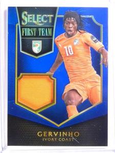 2015 Select Soccer Gervinho First Team Jersey Blue #D62/99 #FTG *53968