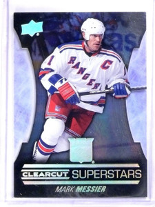 015-16 Upper Deck Series 1 Mark Messier Clear Cut Superstars #CCS10 *56636