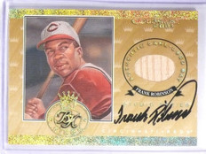 2001 Donruss Bat Kings Studio Series Frank Robinson autograph bat #D23/50 *57868