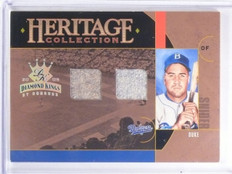 2005 Diamond Kings Heritage Collection Duke Snider Jersey #D24/25 #HC8 *59625