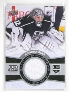 2015-16 Upper Deck Series 1 Jonathan Quick UD Game Jersey #GJJQ *56788
