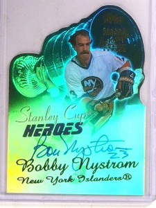 2003-04 Topps Stanley Cup Heroes Bobby Nystrom autograph auto  *67544