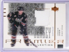 2001-02 UD Premier Jaromir Jagr Collection Jersey #D096/150 #BJJ *56737