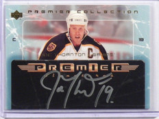 04-05 Upper Deck Premier Collection Joe Thornton auto autograph #PS-JT *38150