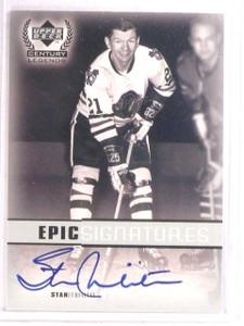 1999-00 Upper Deck Century Legends Epic Stan Mikita autograph auto *67524