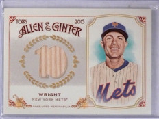 2015 Topps Allen & Ginter Relics David Wright Bat #FSRBDW  *61099