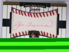 2003 Sweet Spot Classic Yankee Greats Red Ink Joe Torre autograph #D10/25 *57870