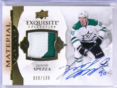 2015-16 Upper Deck Ice Exquisite Jason Spezza Patch Autograph auto #D030/135 *56