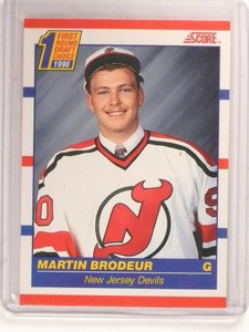 90-91 Score Canadian Martin Brodeur rc rookie #439 *52967