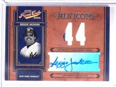 2004 Playoff Prime Cuts MLB Icons Reggie Jackson autograph jersey #D15/44 *58502